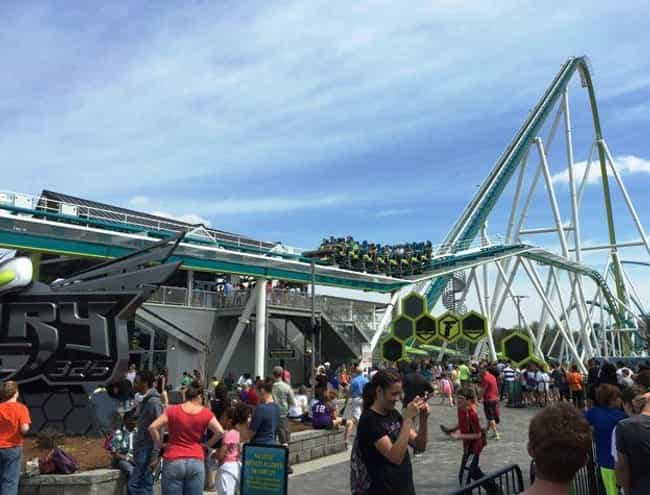 Fury 325 (Charlotte, North Car... is listed (or ranked) 4 on the list The All-Time Scariest Rollercoasters In The World