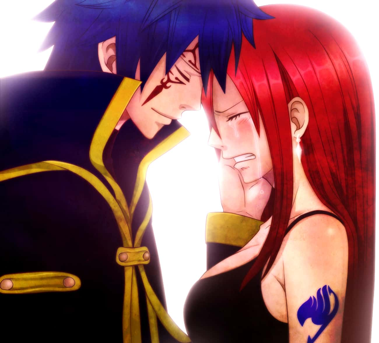 Erza And Jellal is listed (or ranked) 2 on the list The 15 Greatest Fairy Tail Ships