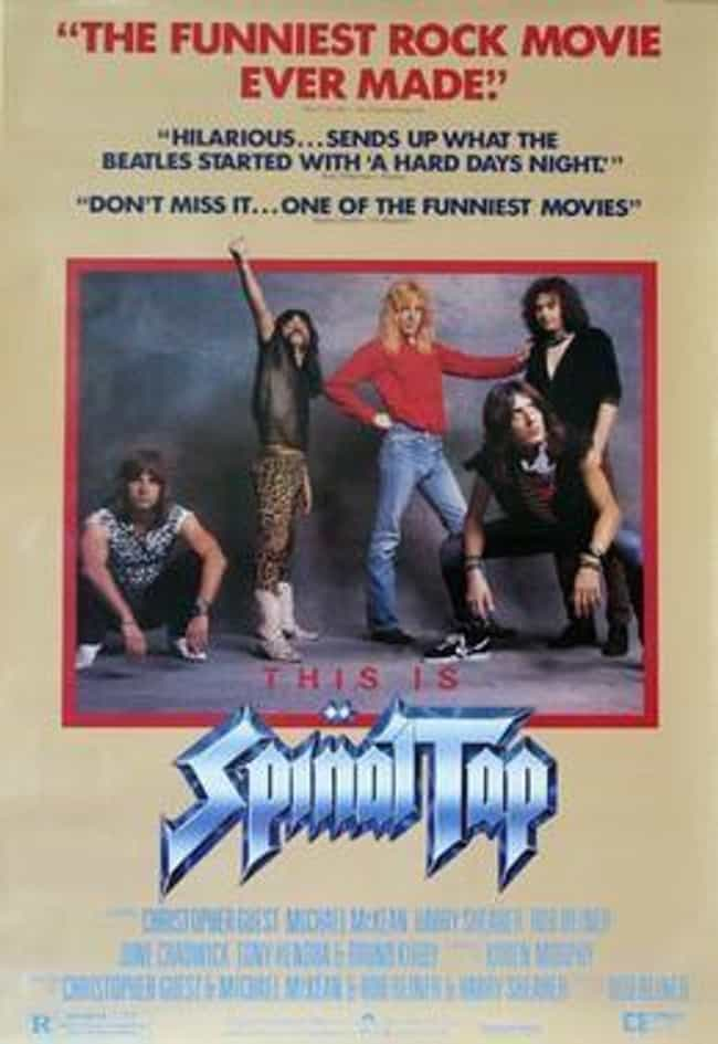 Spinal Tap is listed (or ranked) 4 on the list Famous People Who Never Actually Existed
