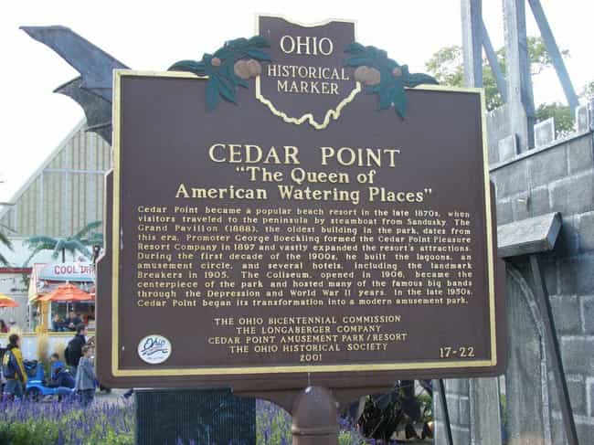 Cedar Point Opened In 1870, An... is listed (or ranked) 2 on the list Behind The Scenes At Cedar Point, America's Roller Coaster Capital