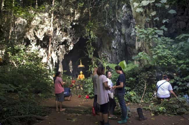 The Group Went Into The ... is listed (or ranked) 3 on the list Hundreds Of People Came Together To Save The Thai Boys' Soccer Team Trapped In A Cave