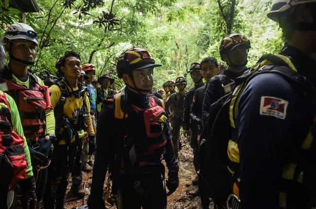 After Park Rangers Found... is listed (or ranked) 4 on the list Hundreds Of People Came Together To Save The Thai Boys' Soccer Team Trapped In A Cave