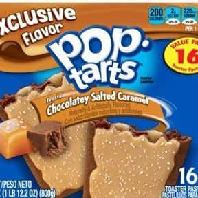 Chocolatey Salted Caramel is listed (or ranked) 24 on the list The Very Best Pop-Tart Flavors