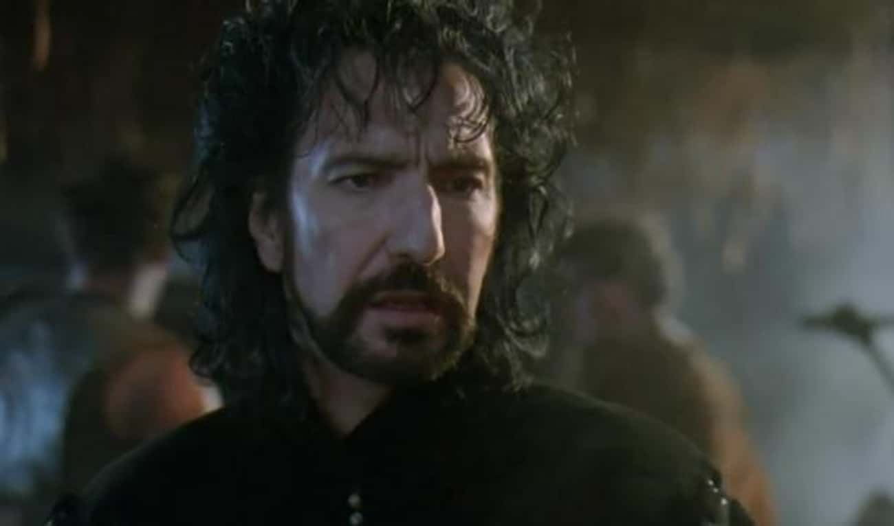 Alan Rickman Thought The Scrip is listed (or ranked) 1 on the list Behind The Scenes of 'Robin Hood: Prince Of Thieves'