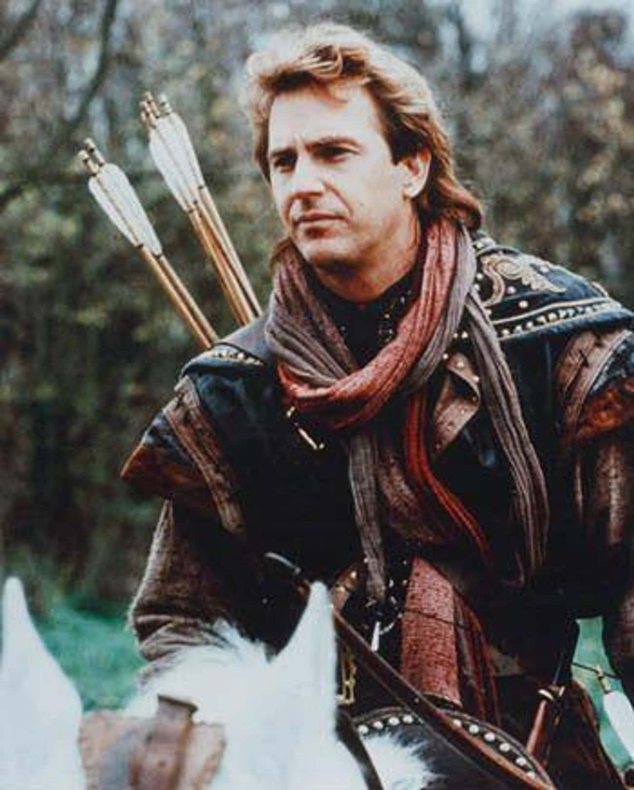 Kevin Costner Broke His Nose R is listed (or ranked) 2 on the list Behind The Scenes of 'Robin Hood: Prince Of Thieves'