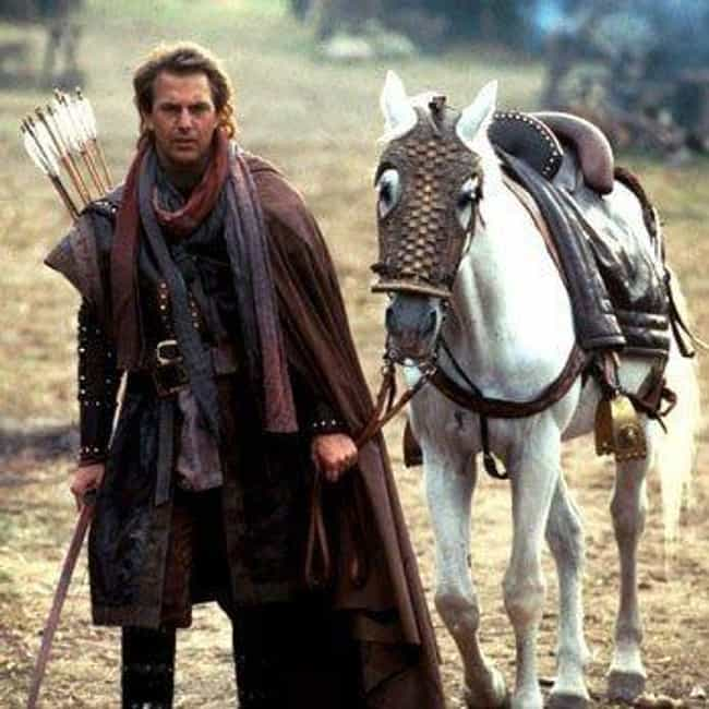 Kevin Costner And A Stuntman W... is listed (or ranked) 3 on the list Behind The Scenes of 'Robin Hood: Prince Of Thieves'