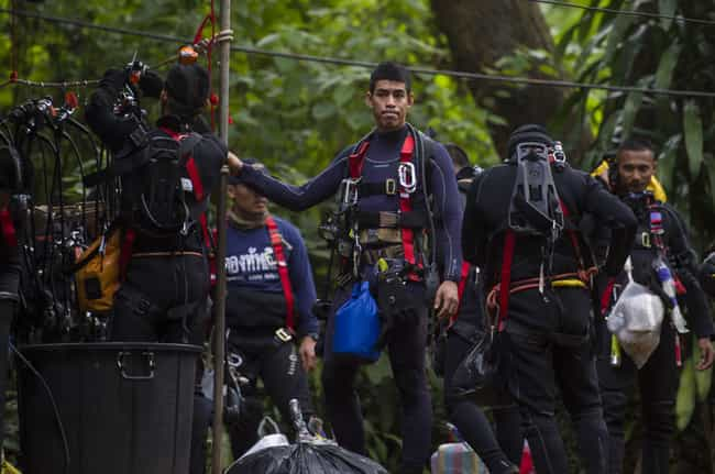 The Rescue Had To Be Sus... is listed (or ranked) 2 on the list Hundreds Of People Came Together To Save The Thai Boys' Soccer Team Trapped In A Cave