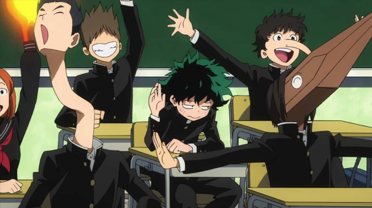 Everyone Has A Quirk is listed (or ranked) 3 on the list 12 Interesting 'My Hero Academia' Fan Theories