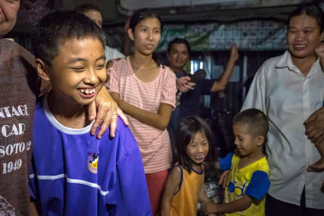 Divers Rescued The Last ... is listed (or ranked) 1 on the list Hundreds Of People Came Together To Save The Thai Boys' Soccer Team Trapped In A Cave
