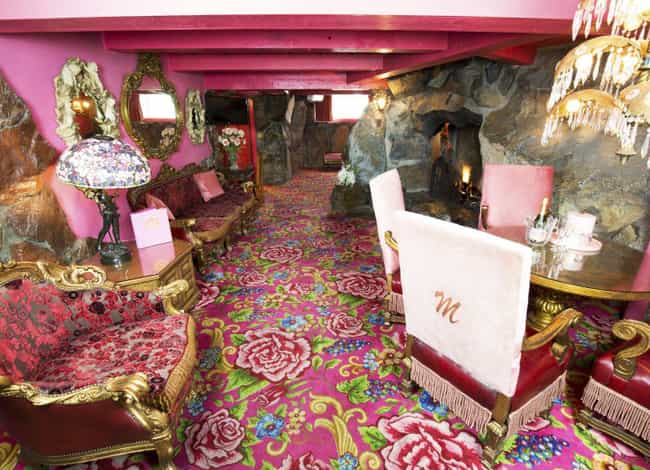 Pink Is The Inn's Signat... is listed (or ranked) 3 on the list Inside The Madonna Inn, The Wildest Hotel In America