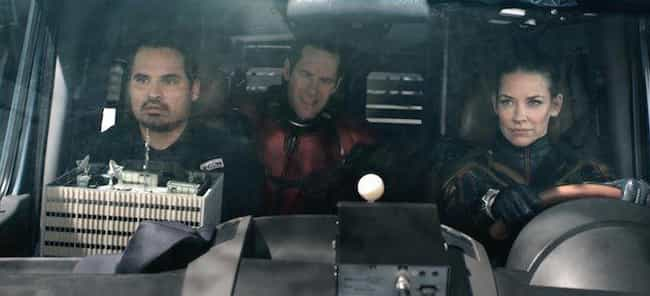 It Makes Time For All Its Char... is listed (or ranked) 4 on the list Why 'Ant-Man And The Wasp' Is Even Better Than 'Infinity War'