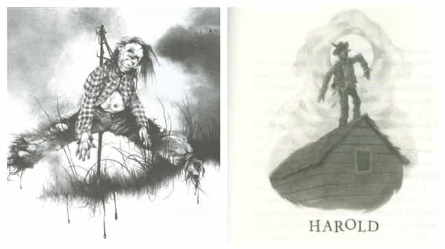 Harold is listed (or ranked) 2 on the list HarperCollins Released An Updated Version Of 'Scary Stories' With New Illustrations
