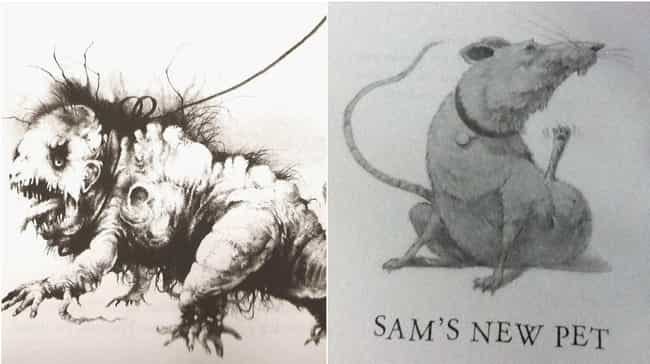 Sam's New Pet is listed (or ranked) 3 on the list HarperCollins Released An Updated Version Of 'Scary Stories' With New Illustrations