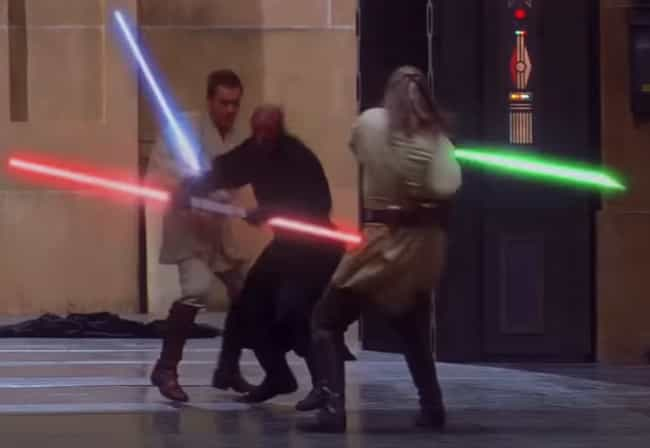 Qui-Gon Jinn Intentionally Los... is listed (or ranked) 2 on the list Darth Maul Fan Theories