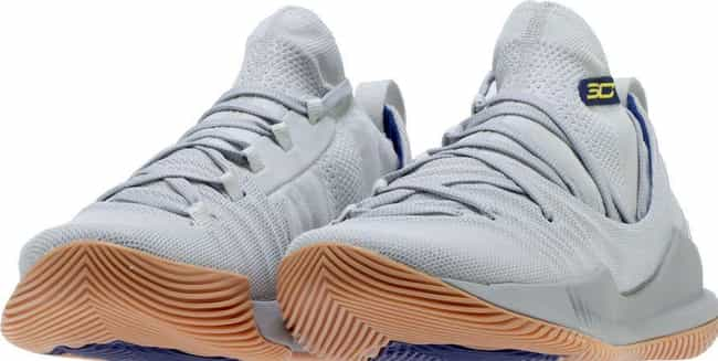 "UA Curry 5 ""Elemental"" is listed (or ranked) 4 on the list The Best Curry 5 Colorways, Ranked"