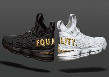 """Nike LeBron 15 """"Equality&# is listed (or ranked) 1 on the list The Best LeBron 15 Colorways, Ranked"""