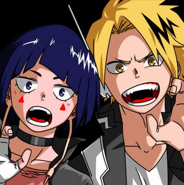 Kyoka And Denki is listed (or ranked) 1 on the list The 18 Greatest 'My Hero Academia' Ships