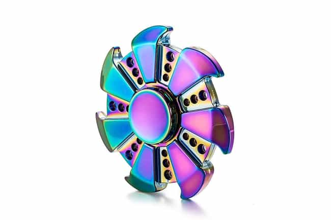 YGJ Rainbow Fidget Spinners, R... is listed (or ranked) 4