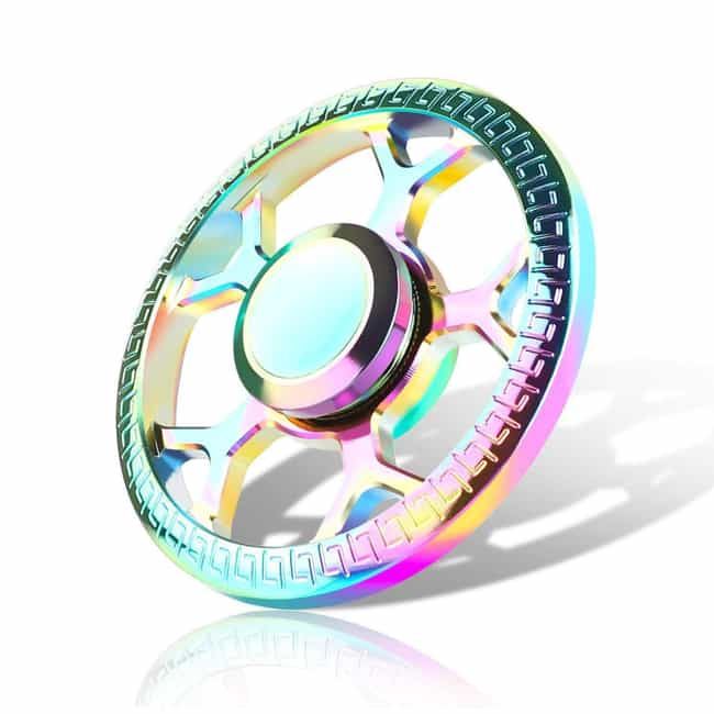 Yocktec Hand Spinner is listed (or ranked) 2 on the list The Best Rainbow