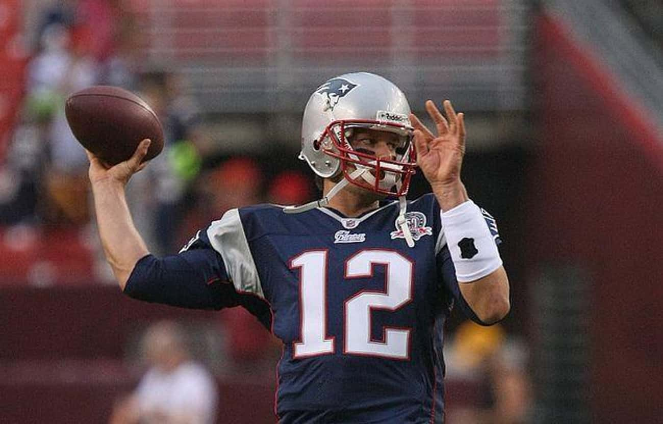 He Threw For Six Yards His Roo is listed (or ranked) 4 on the list 15 Things You Didn't Know About Tom Brady