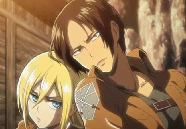 Ymir & Krista Lenz -... is listed (or ranked) 4 on the list The 14 Greatest LGBTQ+ Romances In Anime