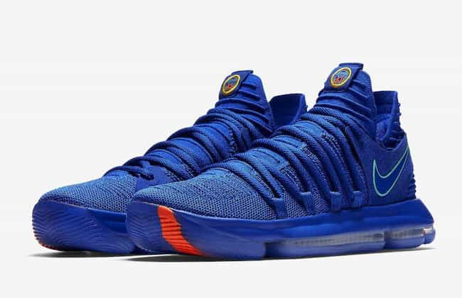 "Nike KD 10 ""City Edition"" is listed (or ranked) 3 on the list The Best KD 10 Colorways, Ranked"