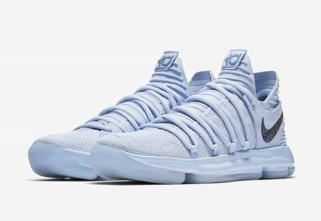 "Nike KD 10 ""Anniversary"" is listed (or ranked) 2 on the list The Best KD 10 Colorways, Ranked"