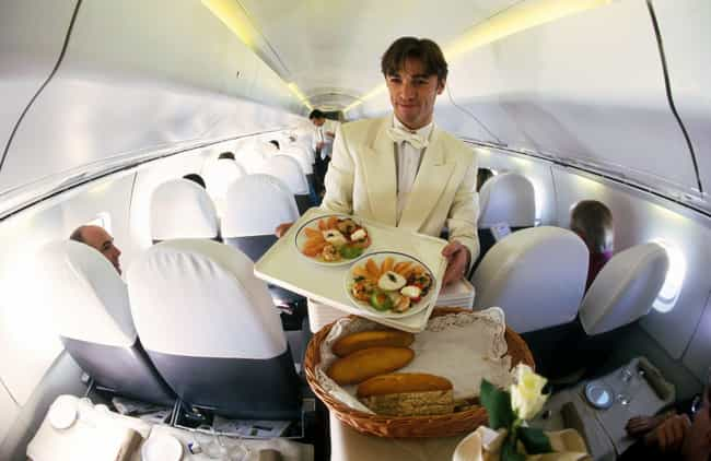 1998 - Wait, The Concorde Did ... is listed (or ranked) 3 on the list Here's What Airplane Food Used To Look Like