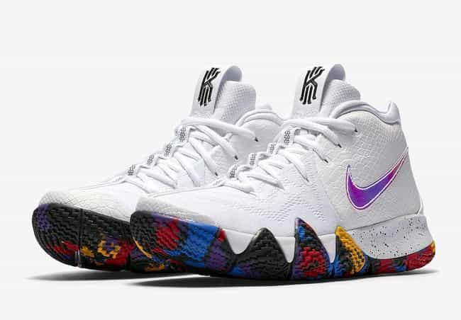 "Nike Kyrie 4 ""March Madness"" is listed (or ranked) 1 on the list The Best Kyrie 4 Colorways, Ranked"