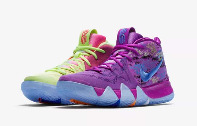 "best sneakers 04cce c5e8a Nike Kyrie 4 ""Confetti"" is listed (or ranked) 1 on the list"