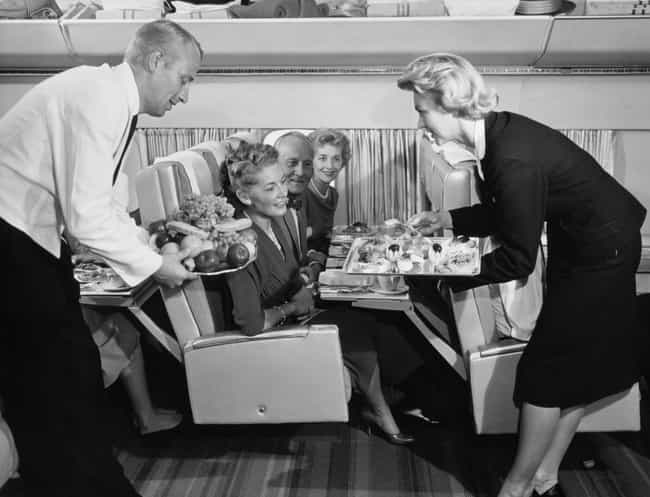 1966 - Do You See This Spread? is listed (or ranked) 1 on the list Here's What Airplane Food Used To Look Like