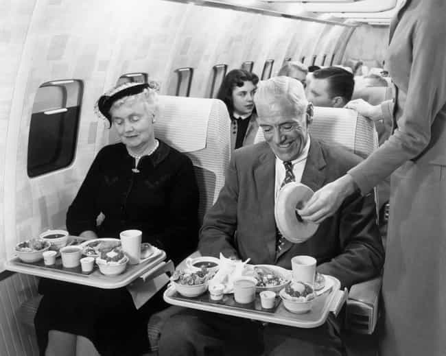 1950s - They Know Future Gener... is listed (or ranked) 4 on the list Here's What Airplane Food Used To Look Like