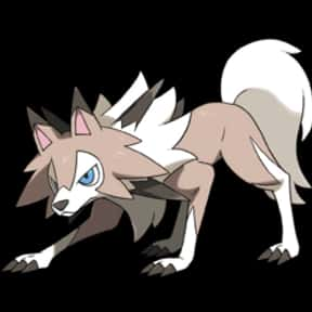 Lycanroc is listed (or ranked) 1 on the list The Best Dog Pokemon