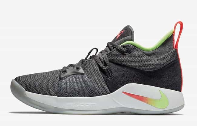 "Nike PG 2 ""Hot Punch"" is listed (or ranked) 8 on the list The Best PG 2 Colorways, Ranked"