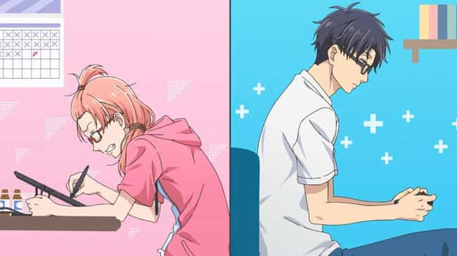 Wotakoi: Love Is Hard For Otak... is listed (or ranked) 2 on the list The Best Anime You Can Watch On Amazon Prime