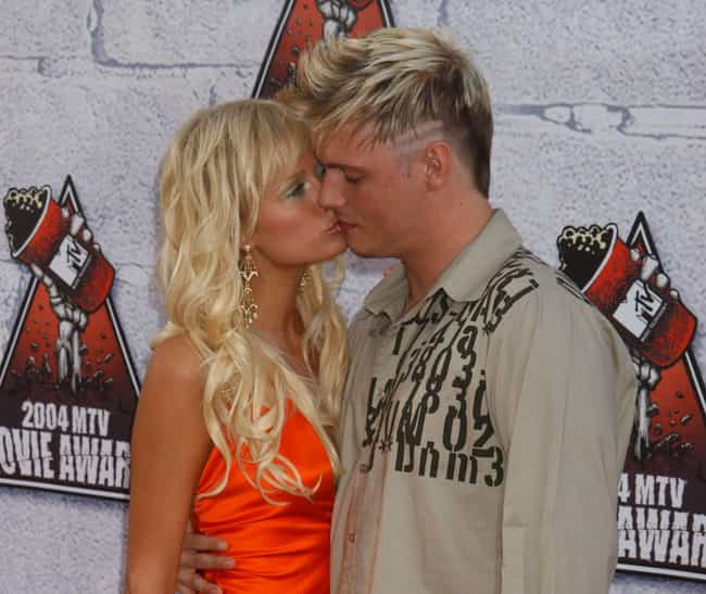 Paris Hilton And Nick Carter A... is listed (or ranked) 4 on the list The Most Uncomfortable Celebrity Kisses Ever Caught On Camera