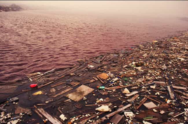 The North Atlantic Garbage Pat... is listed (or ranked) 2 on the list Biggest Ocean Garbage Patches In The World
