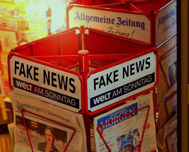 """""""Fake News"""" Da... is listed (or ranked) 4 on the list Modern Buzzwords That Are Way Older Than You'd Think"""