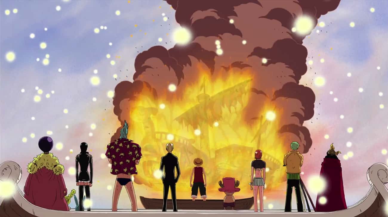 The Straw Hats Part Ways With  is listed (or ranked) 3 on the list The 14 Saddest Goodbyes In Anime History
