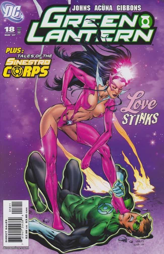 Star Sapphire (DC Comics) is listed (or ranked) 3 on the list The Most Egregious Alternate Costumes In Comic Book History