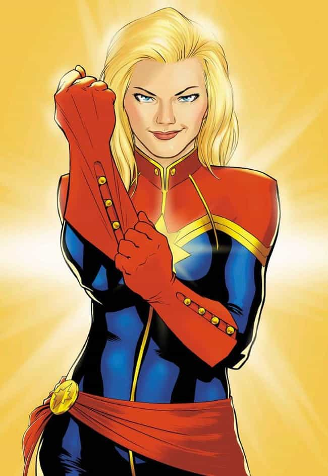 She's Had A Number Of Diff... is listed (or ranked) 2 on the list Things You Didn't Know About Captain Marvel