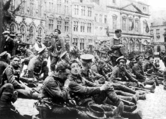 The Battle Of Mons Ended... is listed (or ranked) 1 on the list The Battle Of Mons, The WWI Battle Where Soldiers Claimed Actual Angels Protected Them