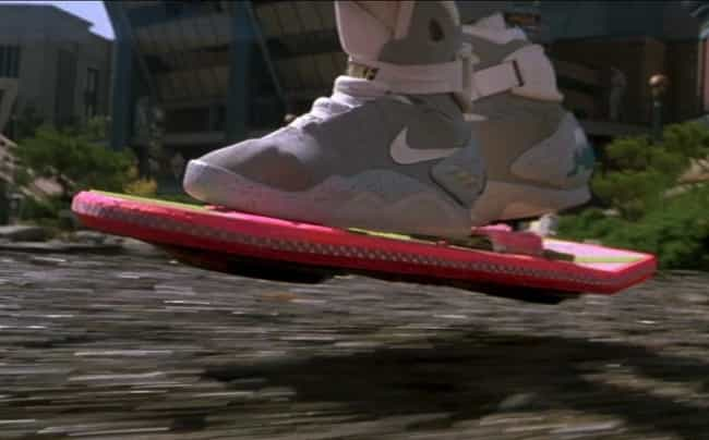 Hoverboards is listed (or ranked) 3 on the list Fictional Technologies You Most Wish Existed