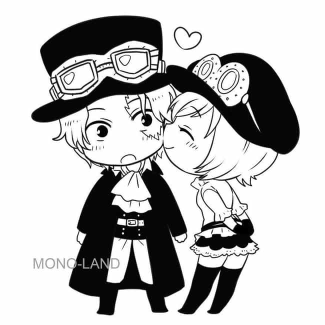 Sabo and Koala is listed (or ranked) 1 on the list The 15 Greatest One Piece Non-Canon Ships