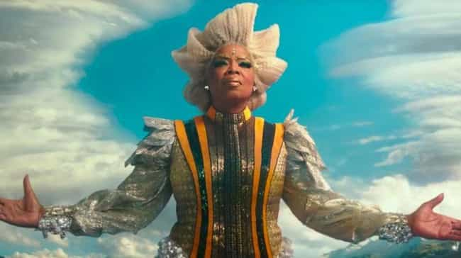 The Giant Oprah Winfrey In 'A ... is listed (or ranked) 1 on the list Terrible CGI You Won't Believe Made It To The Screen In 2018
