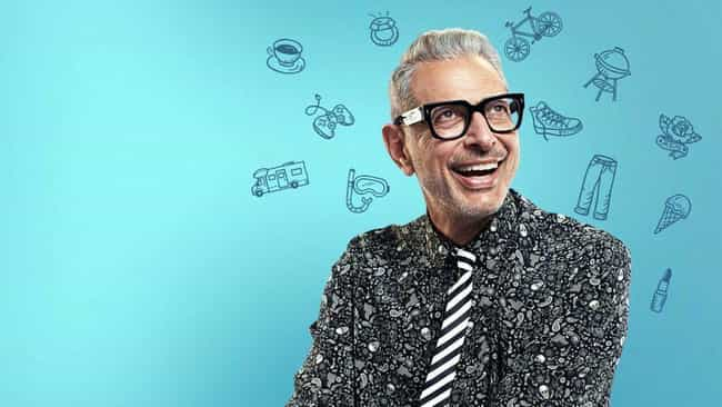 When He Partnered With N... is listed (or ranked) 1 on the list The Loveable Weirdness of Jeff Goldblum Is Exactly What The World Needs Right Now