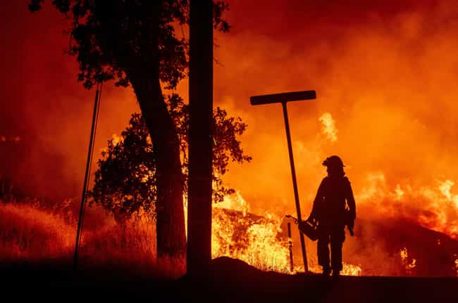 Carr Fire is listed (or ranked) 3 on the list The Worst California Wildfires in History