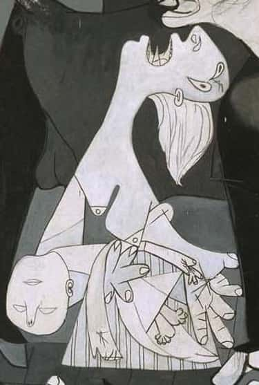 The Mother Cradling Her Fallen is listed (or ranked) 2 on the list Every Hidden Symbol In Picasso's Guernica