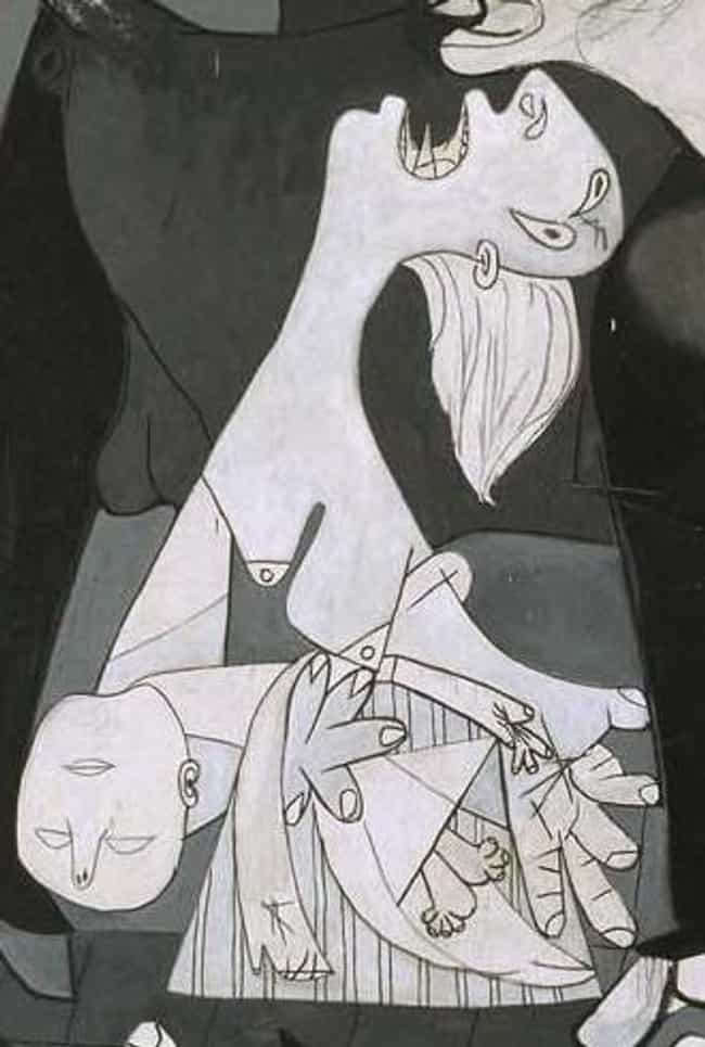 The Mother Cradling Her Fallen... is listed (or ranked) 2 on the list Every Hidden Symbol In Picasso's Guernica