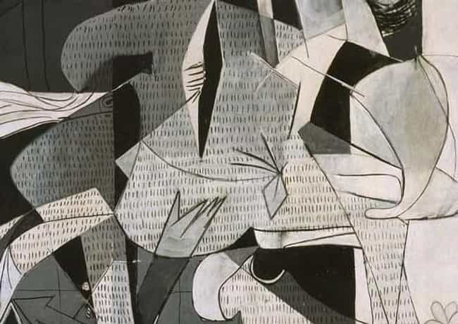 Picasso's Black And White ... is listed (or ranked) 3 on the list Every Hidden Symbol In Picasso's Guernica